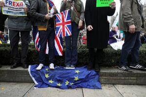 جشن انگلیسیها برای خروج از اتحادیه اروپا