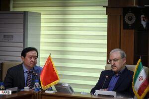 دیدار «سفیر چین» و «وزیر بهداشت ایران»