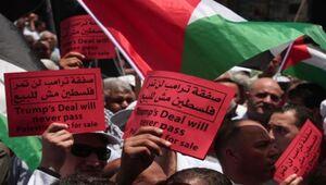 شعار هواداران بسکتبال اردنی علیه معامله قرن +فیلم