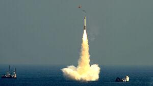 هند موشک بالستیک زیردریایی پرتاب آزمایش کرد