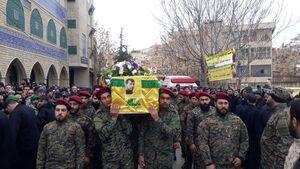 تشییع پیکر رزمنده حزب الله در بعلبک
