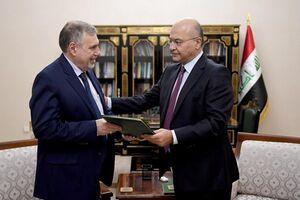 علاوی رسماً مأمور به تشکیل کابینه جدید عراق شد +عکس