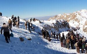 یکی از کولبران مفقودی ارتفاعات سرشیو سقز جان باخت
