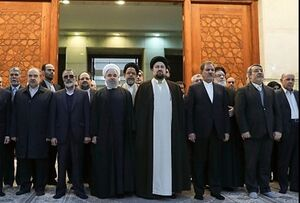 هیات دولت با آرمانهای امام خمینی (ره) تجدید بیعت کرد