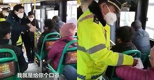 واکنش عجیب زن چینی به درخواست پلیس