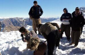دو کولبر مفقود ارتفاعات سرشیو سقز زنده پیدا شدند
