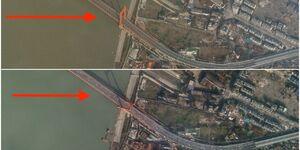 عکس/ قبل و بعد از قرنطینه چین از نمایی متفاوت