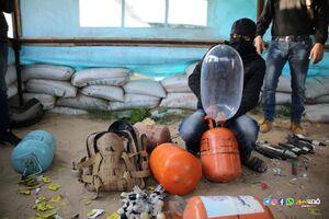 وقتی ابتکار ساده رزمندگان فلسطینی سیستم پدافندی اسراییل را فلج میکند/ لوازم بهداشتی اهدایی سازمان ملل به غزه بلای جان صهیونیستها شد +تصاویر