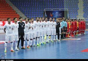 تیم ملی فوتسال ایران نامزد برترین تیم جهان شد