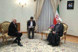 عکس/ دیدار مسئول سیاست خارجی اتحادیه اروپا با روحانی