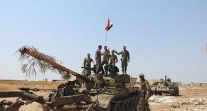 ساعات و روزهای سرنوشتساز در سوریه پس از ۸ سال جنگ/ نیروهای ارتش سوریه در یک قدمی آخرین پایگاه تروریستها + نقشه میدانی و عکس