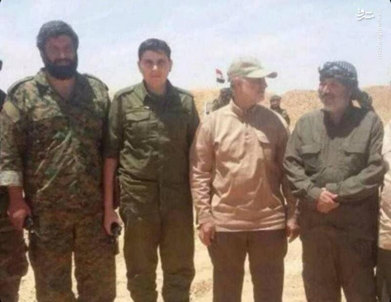 شهید اصغر پاشاپور/نفر اول از سمت چپ