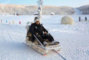 عکس/ پارک گردشگری «شفق شمالی» روسیه