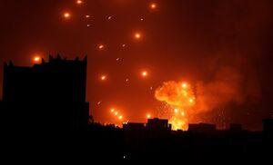 انفجار در انبار مهمات نیروهای وابسته به منصور هادی +فیلم