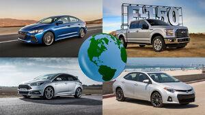 پر فروش ترین خودروهای جهان