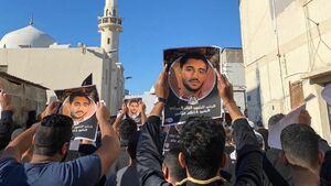 عکس/ تشییع باشکوه شهید بحرینی