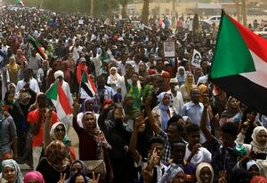خروش مردم سودان در اعتراض به دیدار «البرهان» با نتانیاهو