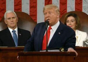 ترامپ در سومین سخنرانی سالیانه خود چه گفت؟