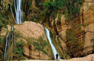 عکس/ آبشار ۹۵متری خرم آباد