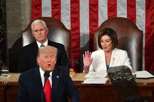 پلوسی به ادعای ترامپ