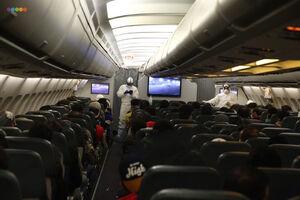 پرواز چارتر ماهان در حال مسافرگیری برای خروج شهروندان ایران