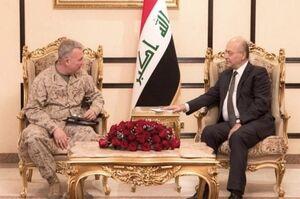 جزئیات گفت و گوی برهم صالح با فرمانده سنتکام