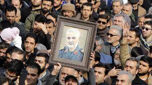آغاز مراسم اربعین شهادت سردار سلیمانی در مصلی تهران