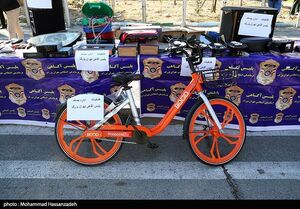 عکس/ اموال کشف شده از سارقان تهران
