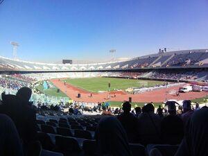 فیلم/ حال و هوای ورزشگاه آزادی قبل از دربی