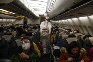 عکس/ انتقال ایرانیان مقیم ووهان چین به کشور