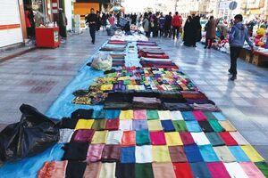 فیلم/ ساماندهی دستفروشان پایتخت