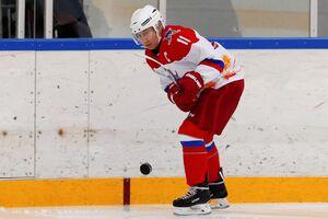 هاکی بازی پوتین با همتای بلاروسی خود