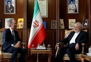 دیدار نماینده ویژه دبیرکل سازمان ملل در امور سوریه با ظریف