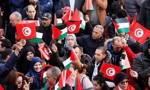 تظاهرات علیه معامله قرن در تونس