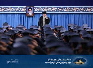 عکس/ سلام نظامی فرماندهان نهاجا به رهبرانقلاب