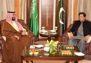 عمران خان و بن سلمان