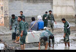 تداوم خدمترسانی سپاه در مناطق سیلزده سیستان و بلوچستان