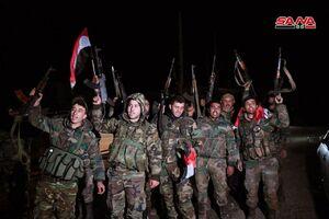 عکس/ سیطره ارتش سوریه بر شهرک «العیس»