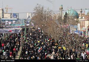 مسیرهای ۱۲گانه راهپیمایی ۲۲ بهمن اعلام شد