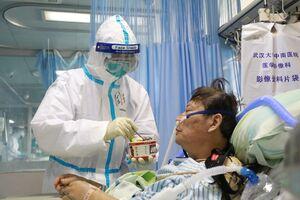 بخش مراقبتهای ویژه بیمارستان ووهان چین