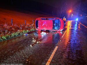 عکس/ خسارت طوفان سهمگین «سیارا» در انگلیس