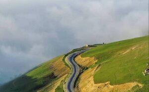 جادهای رویایی در ارتفاعات رضوانشهر
