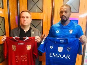 رونمایی از پیراهن شهرخودرو و الهلال در لیگ قهرمانان آسیا +عکس