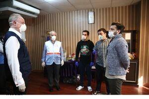 بازدید نماینده سازمان جهانی بهداشت از قرنطینه دانشجویان ایرانی +عکس