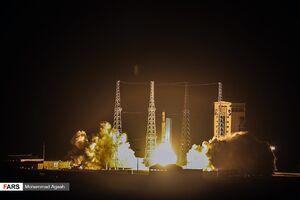 عکس/ پرتاب «ماهواره ظفر» توسط «ماهواره بر سیمرغ»