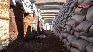 عکس/ کشف تونل زیرزمینی تروریستها در حلب