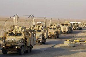 ارسال تجهیزات آمریکایی به پایگاه «عین الاسد»