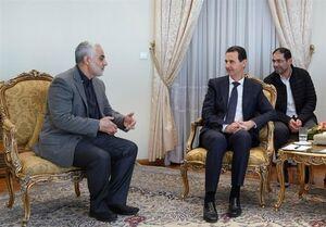 در دیدار سردار سلیمانی با بشار اسد هنگام محاصره دمشق چه گذشت؟ +فیلم