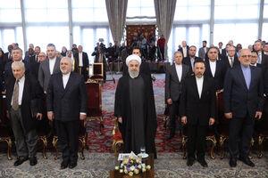 عکس/ دیدار سفرای مقیم تهران با روحانی