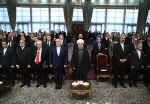 فیلم/ روحانی: آمریکا کشوری است که به مقررات بین المللی پایبند نیست
